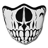 WINDMASK Neopren Biker Motorrad Maske Sturmmaske Skimaske - Skull Face Totenkopf #101