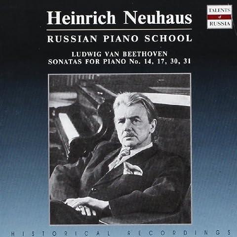 Russian Piano School : Sonates nos 14, 17, 30 &