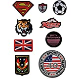 Arrow Textiles Limited Kids Permanent Sticking Iron Cute Cloth Patches (9 Designs)