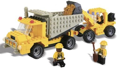 Best-Lock Best-Lock Best-Lock Construction Toys 330pc Loader and Dump Truck B002C1AYGA 694837