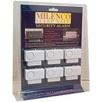 Milenco Sleep-Safe - Alarma para ventanas y puertas (6 unidades)