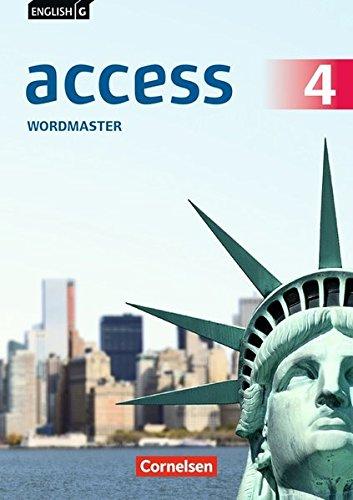 English G Access - Allgemeine Ausgabe: Band 4: 8. Schuljahr - Wordmaster mit Lösungen (4 Lösung)