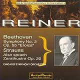 Beethoven: Symphony No. 3 Eroica - Strauss: Also Sprach Zarathustra