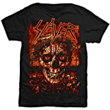 Slayer - Crowned Skull T-Shirt, Schwarz (Black), XL