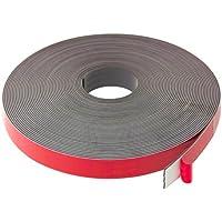 first4magnets f4mf25af -1 25,4 mm de ancho x 2,5 mm térmica de caucho grueso vinilo cinta adhesiva magnética