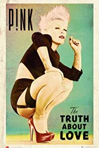 Music Maxi Poster featuring Art Work from P!nk's Album 'The Truth About Love' 61x91.5cm