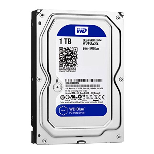Western Digital WD10EZRZ Internal Hard Drive (8,9 cm (3,5 Zoll), 5400rpm, 64MB, SATA)