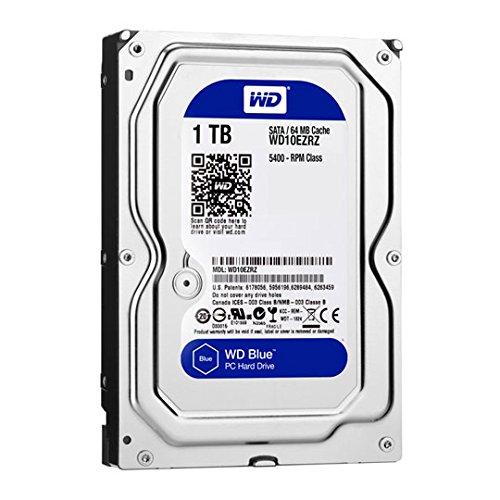 Western Digital WD10EZRZ Internal Hard Drive (8,9 cm (3,5 Zoll), 5400rpm, 64MB, SATA) -