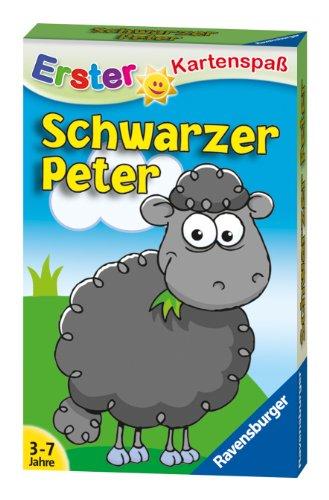 Ravensburger 20432 Kartenspiel-Schwarzer Peter Schaf Kinderkarten