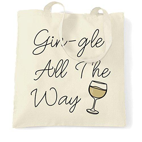 Naturale Come Gin Natale I Gin Il Trasporto Babbo Per Di Buffo Bere gle Sacchetto Tutti Alcol Natale xwUq8angp