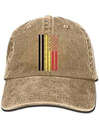 Belgium American Flag Vintage Denim Baseball Ninguno Adjustable Dad Hat  Unisex Fashion15 ccf9cd3bb501