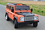 SL Lifestyle Land Rover Original-Lizenz 2,4 GHz Fernbedienung 2 Motoren Kinderauto