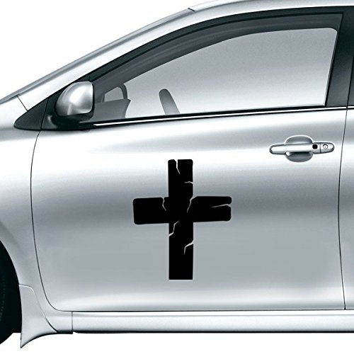 DIYthinker Halloween-Kruzifix-Auto-Aufkleber 30Cm