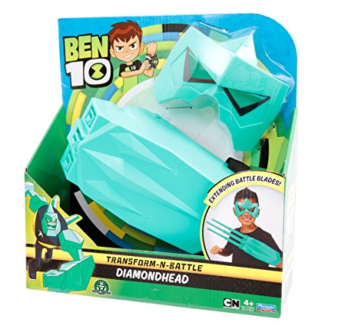 Ben 10 70747201 Ben10 Roleplay Diamantenschädel (Dimondhead) Zubehör (Ben 10 Kostüm)