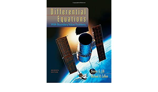 Buy Differential Equations with Boundary-Value Problems Book
