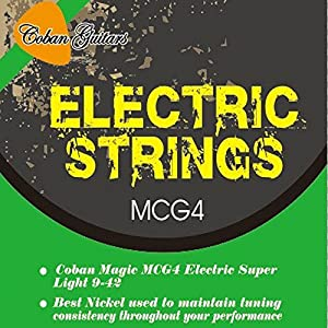 Coban MCG4 Guitars Electric Guitar strings 9-42 x 1 packet