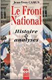Le Front national : Histoire et analyses