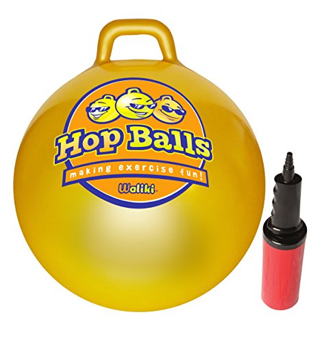 WALIKI Toys Hopper Ball (Hopping Ball Hip Pity Hop, Pump Included)