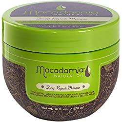 Macadamia Masque Réparateur Intense Deep Huile Naturelle, 470 ml