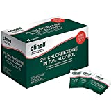 Clinell CA2C240 Wipes, Alcoholic, 2% Chlorhexidine - Pack of 240