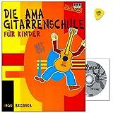 Telecharger Livres La Guitare AMA ecole pour les enfants de Ingo brzoska musicale Formation de base pour guitare pour enfants a partir de 6 ans CD avec livret d apprentissage et Dunlop plek (PDF,EPUB,MOBI) gratuits en Francaise