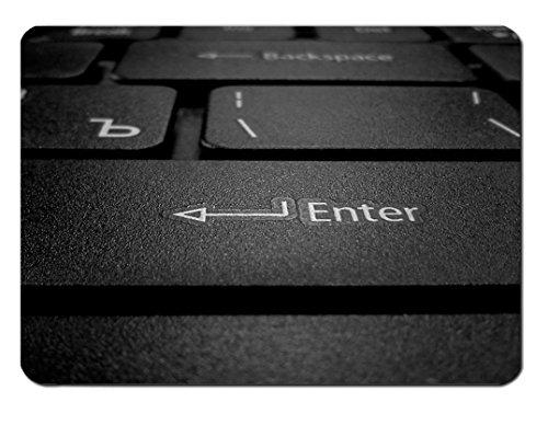 Mauspad Enter Button Design - Netbook-gamer