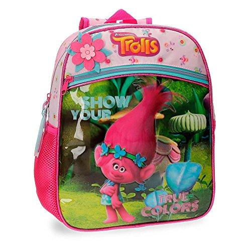 Imagen de trolls 27522a1 true colors  infantil, 33 cm, 9.8 litros, multicolor