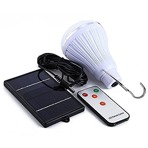 Yihome Multifunktionale Solarlampe, sehr hell, 20LED, dimmbar, mit Fernbedienung