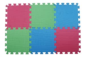KnitPro Lace Blocking Mats (Pack of 9) Blue  and Green