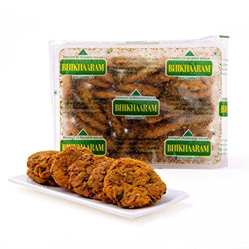 Delight Foods Bhikharam's Methi Mathri (500 g)