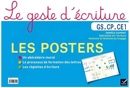 Le geste d'écriture GS CP CE1 éd. 2015 - Posters d'écriture