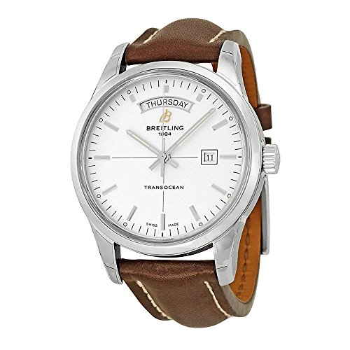 Breitling Transocean Day & Date A4531012_G751_435X reloj mecánico para hombre