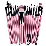 Set da 15 pz di pennelli Tefamore per il trucco, ombretto, fondo, sopracciglia, labbra