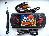 TripleM Gadgets® SEGA Mega Drive Handheld Games Console - 600 Games inc.Golden Axe, Shinobi, AlexKidd, and an SD Card
