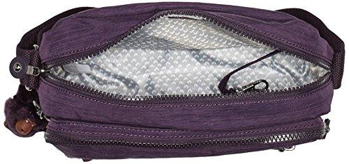 Kipling Deena, Sacs Bandoulière Femmes, 25.5x19x12.5 cm Violet (79W Dazz Purple)