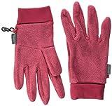Sterntaler Mädchen Fingerhandschuh Gants, Rouge (beerenr. Mel. 816), 2 Handschuhe, Rot, 2