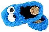 Close Up Sesamstrasse 3D Slipper Krümelmonster Gr. XL 44/46 - Hausschuhe mit dem Cookie Monster (XL)