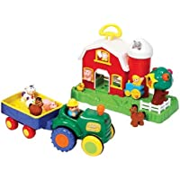 Old MacDonald Farmhouse & Tractor Set by Kiddieland by Kiddieland Toys Limited