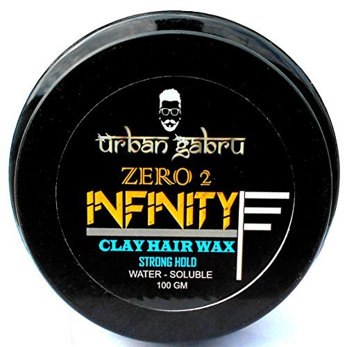 UrbanGabru Zero to Infinity Hair Wax for Strong Hold and Volume - 100 g
