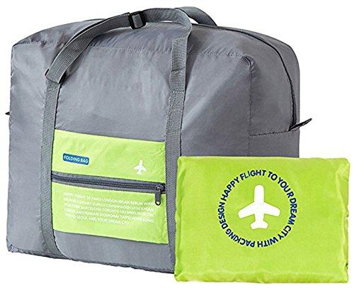 GUOYI®32L Reise Seesack Wasserdicht Faltbar Tasche Leicht Sport Fitnessstudio Gepäck Tasche(Blau) Grün