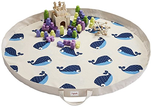 Preisvergleich Produktbild 3 Sprouts Spielmatte / Spielsack - Wal Blau