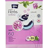 Bella Herbs Desodorante Fresh - Protegeslips con extracto de verbena (4 paquetes de 60 unidades)
