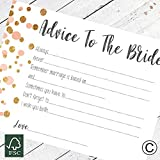 Hen Party 10 Advice To The Bride Cards Games Hen Party Accessories Polka Dot