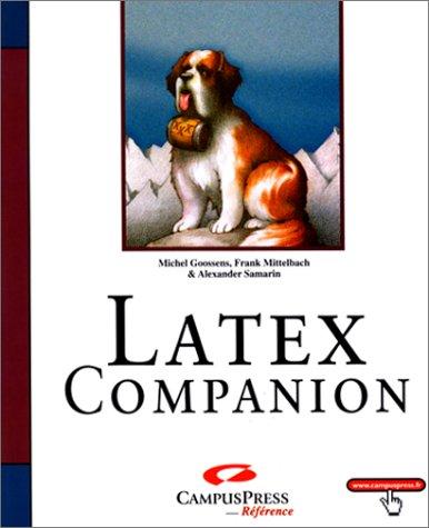 Latex Companion par Michel Grossens, Frank Mittelbach