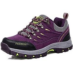 FMCAMEL Senderismo Botas Mens Ladies Trail Mountain Zapatos para Caminar Viajes Camping Outdoor Zapatillas más tamaño Disponible