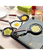 ALXIND Lovely Cartoon Shape Mini Non-Stick Egg Frying Pan/Pancake Egg Frying Pan/Breakfast Omelette Pan (Design May Vary) omlette pan Non Stick, Egg Frying pan