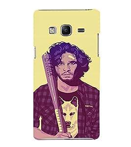 EPICCASE Jon snow Mobile Back Case Cover For Samsung Tizen Z3 (Designer Case)