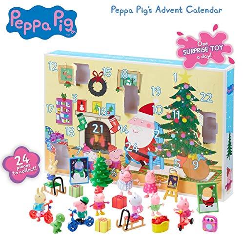 Peppa Pig Christmas Advent Calendar - 24 Toys Included