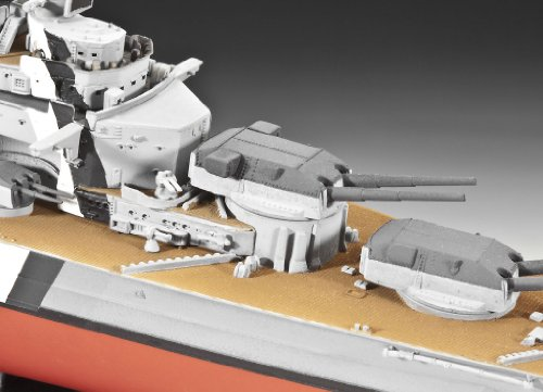 Imagen 4 de Revell 05098 Bismarck - Acorazado a escala [Importado de Alemania]