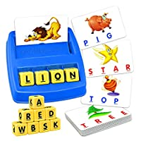 Educational Learning Toys for 2-5 Year Olds Boys Girls Kids, TOPTOY Memory Spelling Games for Kids Ages 2-5 Birthday Christmas Xmas Gifts for 2-5 Year Old Boys Stocking Stuffers Fillers Colorful ZMPD1